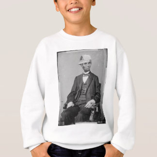 The Portrait of Lincoln wearing baseball cap スウェットシャツ