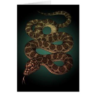 The Snake(G) グリーティングカード