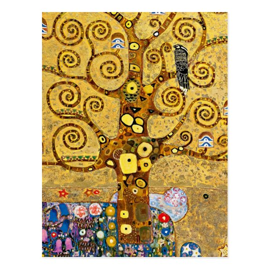 """ The Tree of Life "" , Gustav Klimt ポストカード"