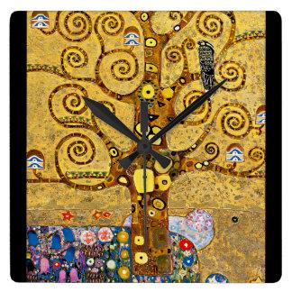 """"""" The Tree of Life """" , Gustav Klimt 壁時計"""