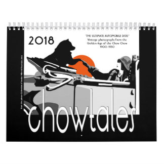 THE ULTIMATE AUTOMOBILE DOG - CHOW CALENDAR カレンダー