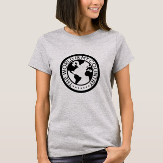 The World is My Country T-Shirt (Version 2). Tシャツ