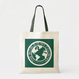 The World is My Country Tote Bag. トートバッグ