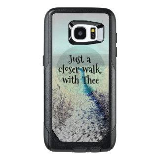 Theeの引用文のちょうどより近い歩行 オッターボックスSamsung Galaxy S7 Edgeケース