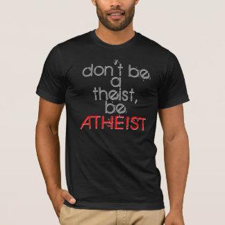 theist.があないで下さい tシャツ