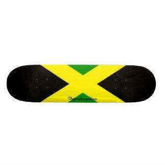 Thejamkingshowジャマイカの署名のスケートボード 18.7cm ミニスケートボードデッキ