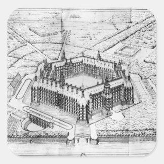 Thelemeの大修道院の復元 スクエアシール