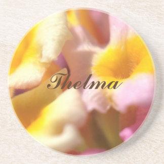 Thelma -砂岩飲み物のコースター コースター