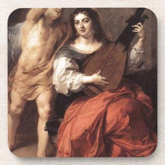 Theodoor van Thulden著調和そして結婚 飲み物コースター