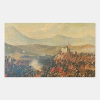 Theodorアマン著アルマの戦い 長方形シール