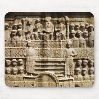 Theodosiusのオベリスクの基盤のレリーフ、浮き彫り マウスパッド