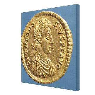 Theodosius Iの固相線おおわれている素晴らしいの キャンバスプリント