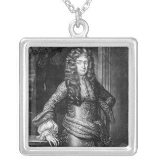 Theophilus HastingsのHuntingdonの第7伯爵 シルバープレートネックレス