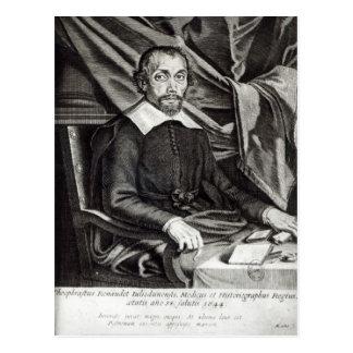 Theophraste Renaudotの年齢58 1644年のポートレート ポストカード