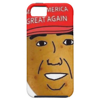 thepotatoofficialロゴ iPhone SE/5/5s ケース