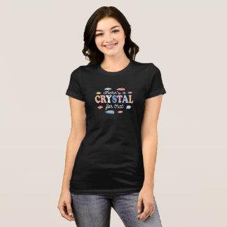 Theresそれのための水晶 Tシャツ