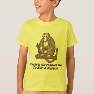 Theresリーサスを食べる間違った方法無し Tシャツ