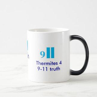 Thermites 4 911の真実の熱コップ マジックマグカップ