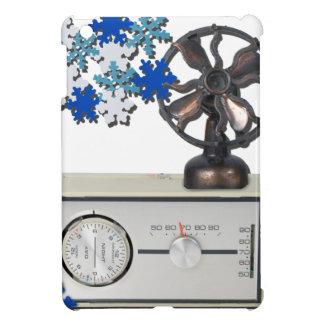 ThermostatHeaterFanSnowflakes052215 iPad Miniカバー