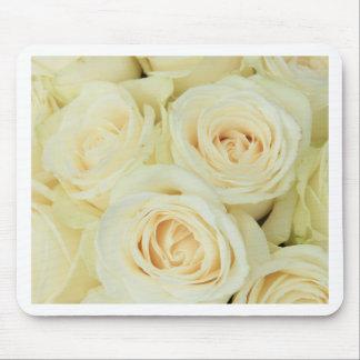 Therosegarden著白いバラ マウスパッド