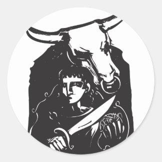 TheseusおよびMinotaur ラウンドシール