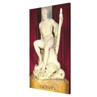TheseusおよびMinotaur 1782年 キャンバスプリント