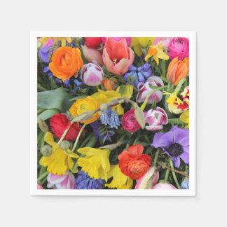 Thespringgarden著春の花束 スタンダードカクテルナプキン
