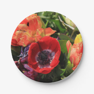 Thespringgarden著春の花束 ペーパープレート スモール