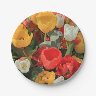 Thespringgarden著春の花束 紙皿 小