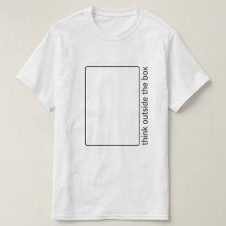 Think Outside The Box T-Shirt Tシャツ