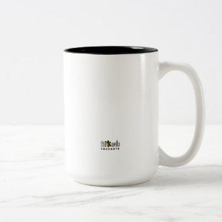 Thinkwells著アイディアのデザインのコーヒー・マグ ツートーンマグカップ