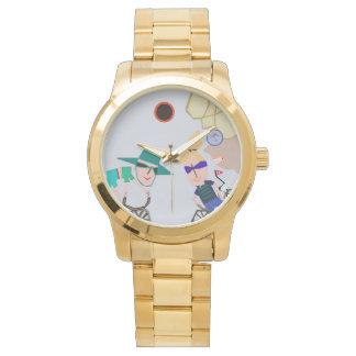"Thleudronからの3月著""日食""の腕時計 腕時計"