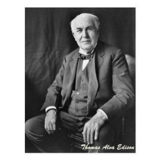 Thomas Alva Edison ポストカード