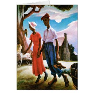 Thomas Hart Benton著ロマンス カード