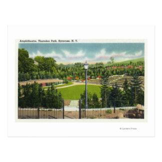 Thornden公園の円形競技場の眺め ポストカード