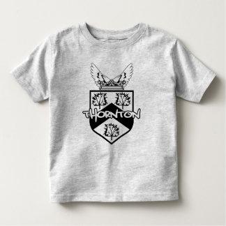 Thorntonの家紋の子供 トドラーTシャツ