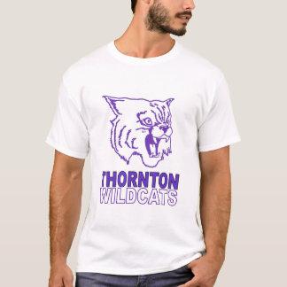 Thorntonの山猫猫のTシャツ Tシャツ