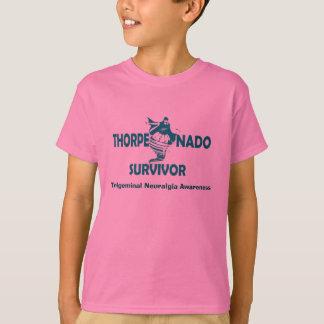 Thorpenadoの生存者の子供のワイシャツ Tシャツ
