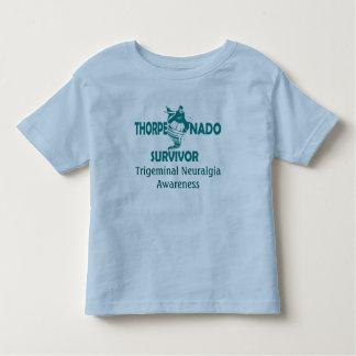 Thorpenadoの生存者の幼児のTシャツ トドラーTシャツ