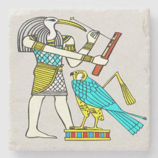 Thothの昔ながらのなエジプト人 ストーンコースター