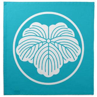 threadlikeリングや輪のキヅタの葉 ナプキンクロス