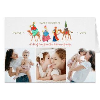 Three Kings | Holiday | Folded Greetings Cards カード