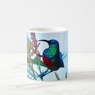 throatedハチドリのルビー コーヒーマグカップ