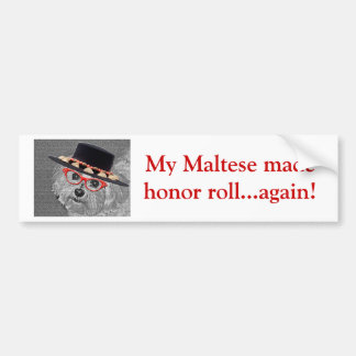Thumbellinaは私が美しいマルタの私の名前です バンパーステッカー