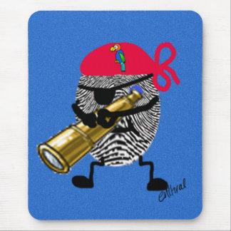 Thumbprintの海賊 マウスパッド