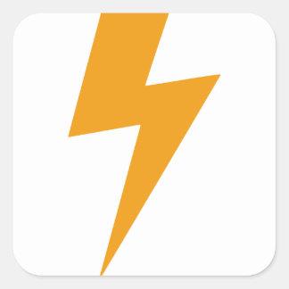 Thunder Energy Yellow Print スクエアシール