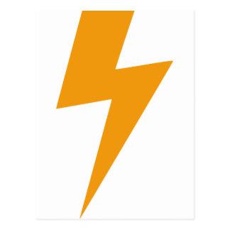 Thunder Energy Yellow Print ポストカード