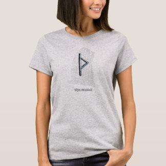 Thurisazのrune、Rokの西のrunestoneのトールの記号 Tシャツ