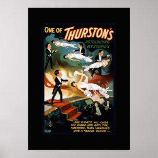 Thurstonの手品師のヴィンテージの劇場ポスター ポスター