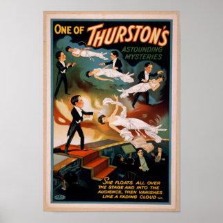 Thurstonの驚異的なミステリー魔法ポスター ポスター